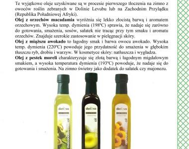 Egzotyczne oleje roślinne