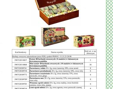 Herbaty owocowe Kawon